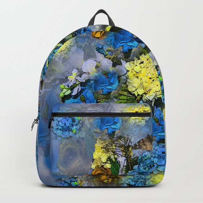 HYDRANGEA AND ROSES Backpack