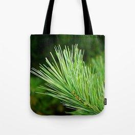 White pine branch Tote Bag