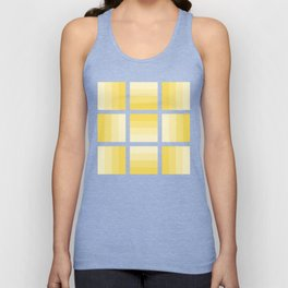 Four Shades of Yellow Unisex Tank Top