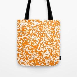 Small Spots - White and Orange Tote Bag