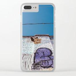 San Francisco X Clear iPhone Case