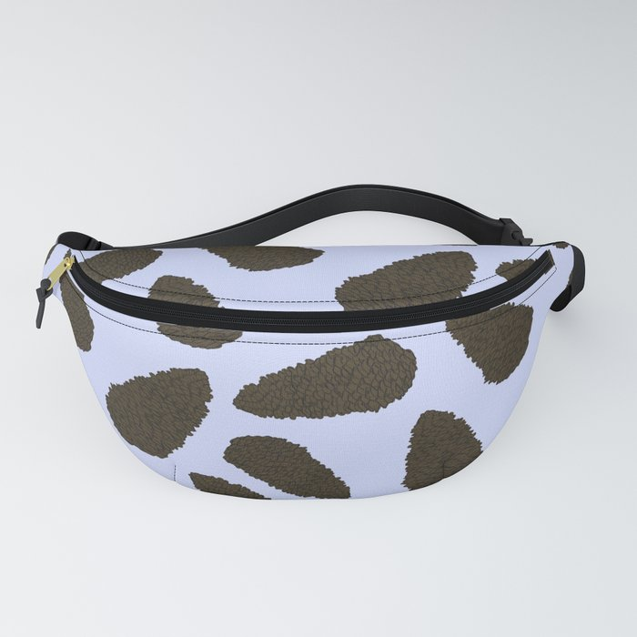 Tree Patterns: Lilac Pinecones Fanny Pack