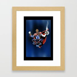 Chris Paul the deceiver Framed Art Print
