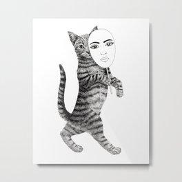 Cat walk Metal Print
