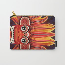Sri Lankan Fire Demon Carry-All Pouch