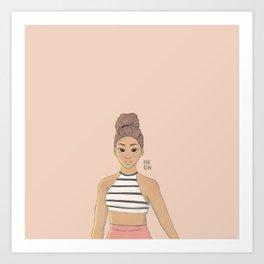 Cinnamon Art Print