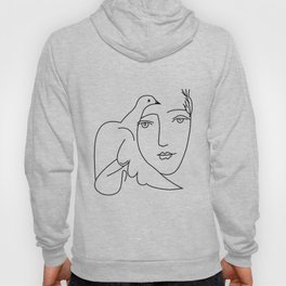Picasso Dove Peace Women Hoody