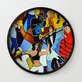 SALSA SAUVAGE Wall Clock