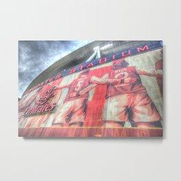 Arsenal Football Club Emirates Stadium London Metal Print
