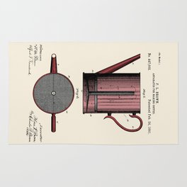 Coffee Press Patent Rug