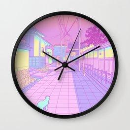 Kyoto Cats Wall Clock