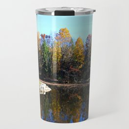 Along the Lakeside Travel Mug