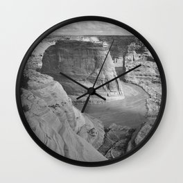 Ansel Adams - Canyon de Chelly National Monument Wall Clock