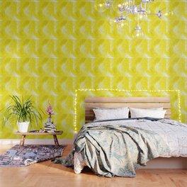 Palms Yellow Wallpaper