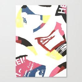 Car Boots Sale Canvas Print