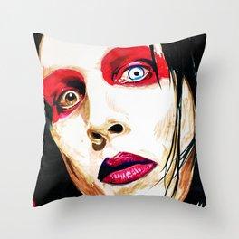 M. Manson Throw Pillow