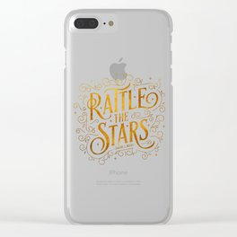 Rattle the Stars Clear iPhone Case