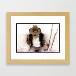 Coins Framed Art Print