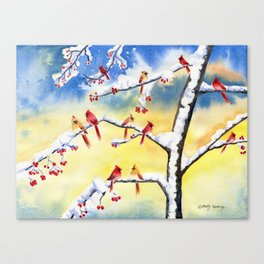 Winter Song 2 Canvas Print