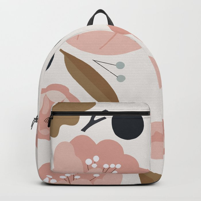 Nature Pattern Backpack