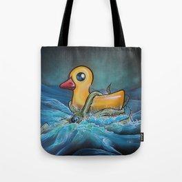 Quacken Tote Bag
