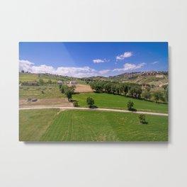 Green Fields of Abruzzo Metal Print