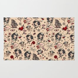 Suzy Sailor Pattern Rug