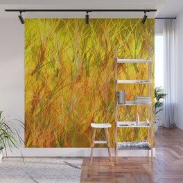 Warm grasses Wall Mural