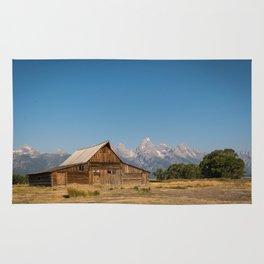 Mormon Row, Wyoming Rug