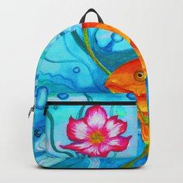 The Romantic Goldfish Backpack