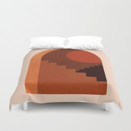 Abstraction_SUN_HOME_MInimalism_001 Duvet Cover