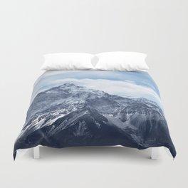 Snowy Mountain Peaks Bettbezug