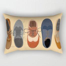 I Love Brogues Rectangular Pillow