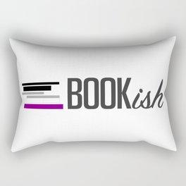 Asexual, Bookish, and Proud Rectangular Pillow