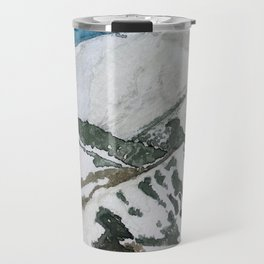 Snowmass Ski Area Watercolor Travel Mug