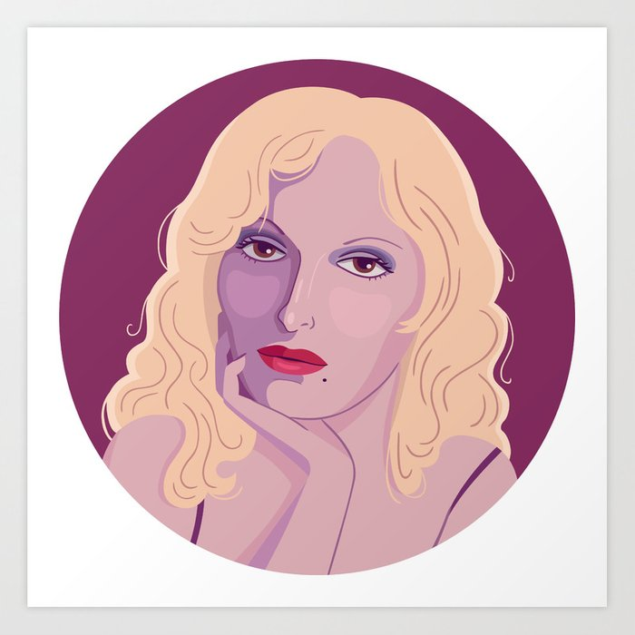 Queer Portrait - Candy Darling Art Print
