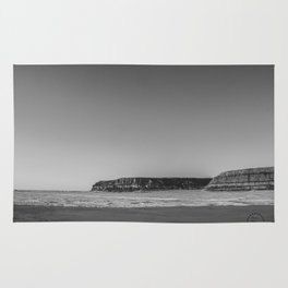 Winter, Lake Sakakawea, North Dakota Rug
