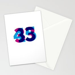 33/45 Stationery Cards