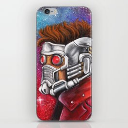 Galaxy Hero iPhone Skin