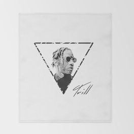 ASAP ROCKY Throw Blanket