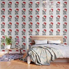 Christmas Schnauzer Wallpaper