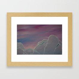 Master of None Tights Framed Art Print