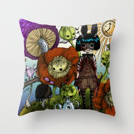 Wonderland Inc Throw Pillow