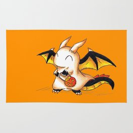 Trick or Treat Dragon Rug