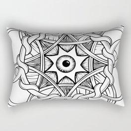 Cosmic Eye Rectangular Pillow