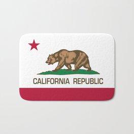 California flag, High Quality Authentic Bath Mat