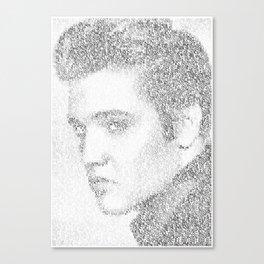 Elvis: Suspicious Minds Canvas Print