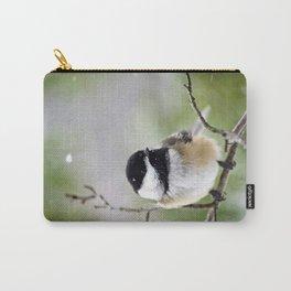 Chickadee Bird Carry-All Pouch