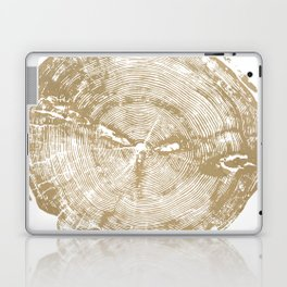 Sundance Pine, Tree ring print Laptop & iPad Skin