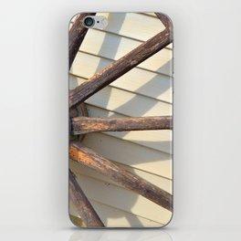 Wheel of a Wagon iPhone Skin